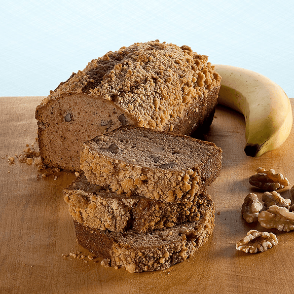 Banana Walnut Muffin Loaf