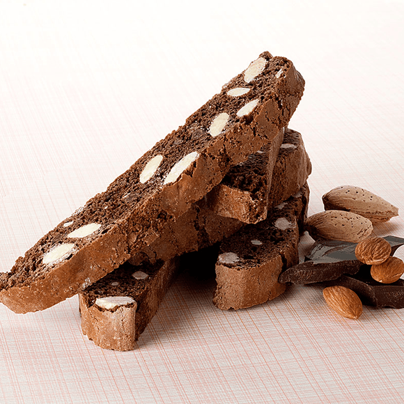 Chocolate Almond Biscotti The Gingerbread Construction Co.