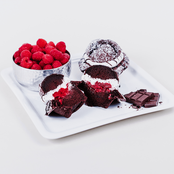Chocolate Raspberry Muffin