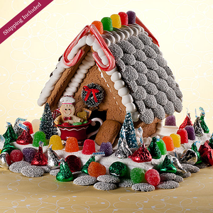 Christmas Gingerbread House - Small The Gingerbread Construction Co.