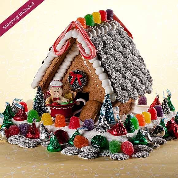 Christmas Gingerbread House - Small