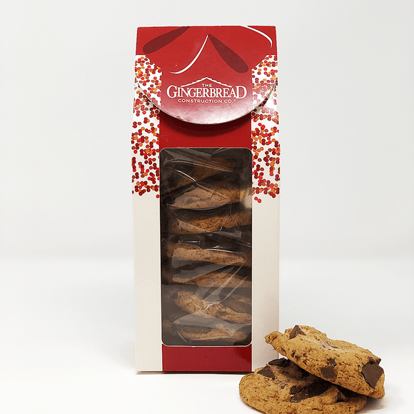 Chocolate Chunk Cookie Stack The Gingerbread Construction Co.