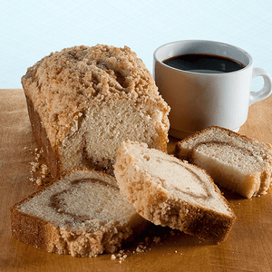 Coffee Cake Muffin Loaf