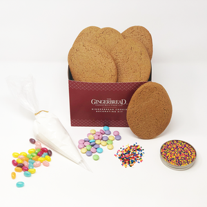 Easter Egg Gingerbread Cookie Decorating Kit