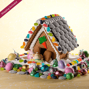 Easter Gingerbread House - Small