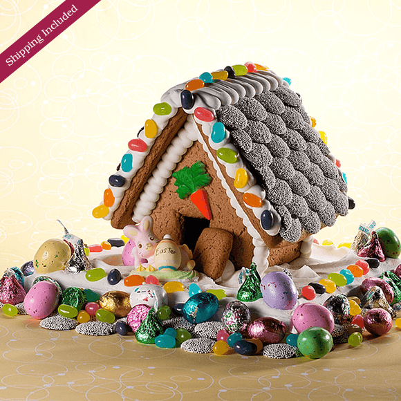 Easter Gingerbread House - Small The Gingerbread Construction Co.