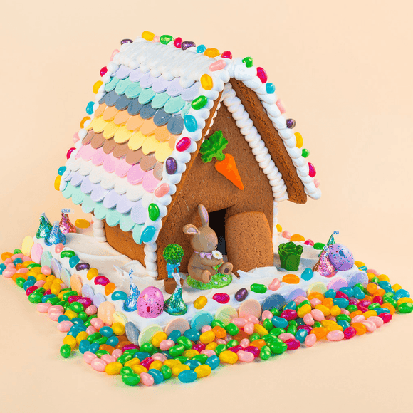 Easter Gingerbread House - Medium