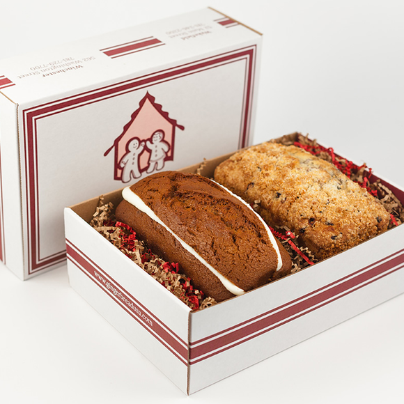 Muffin Loaf 2-Pack Gift Box The Gingerbread Construction Co.