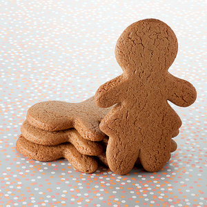 Undecorated Gingerbread Cookie - Girl The Gingerbread Construction Co.