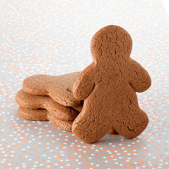 Undecorated Gingerbread Cookie - Boy The Gingerbread Construction Co.