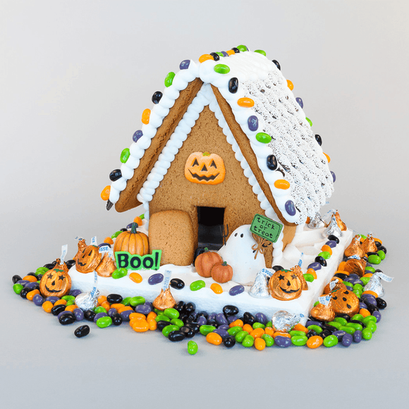 Halloween Gingerbread House - Medium