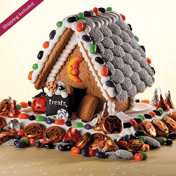 Halloween Gingerbread House - Small