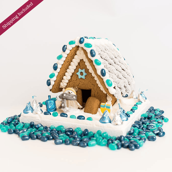 Hanukkah Gingerbread House - Small