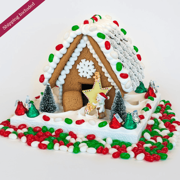 Jelly Bean Gingerbread House - Small