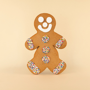 Jumbo Gingerbread Cookie - Boy