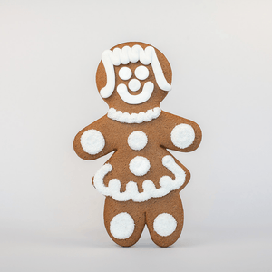 Jumbo Bride Gingerbread Cookie