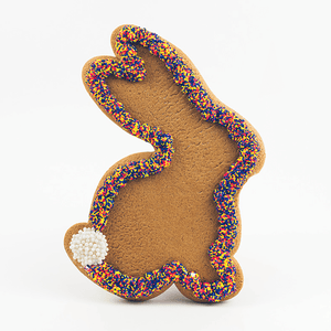 Jumbo Bunny Gingerbread Cookie The Gingerbread Construction Co.