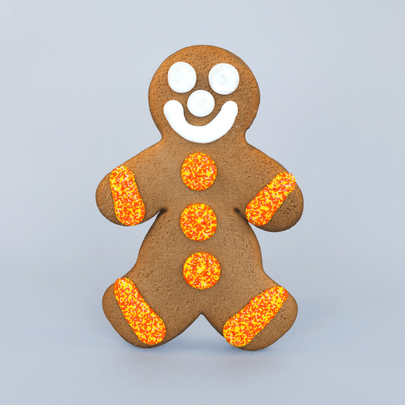 Jumbo Fall Gingerbread Cookie - Boy The Gingerbread Construction Co.