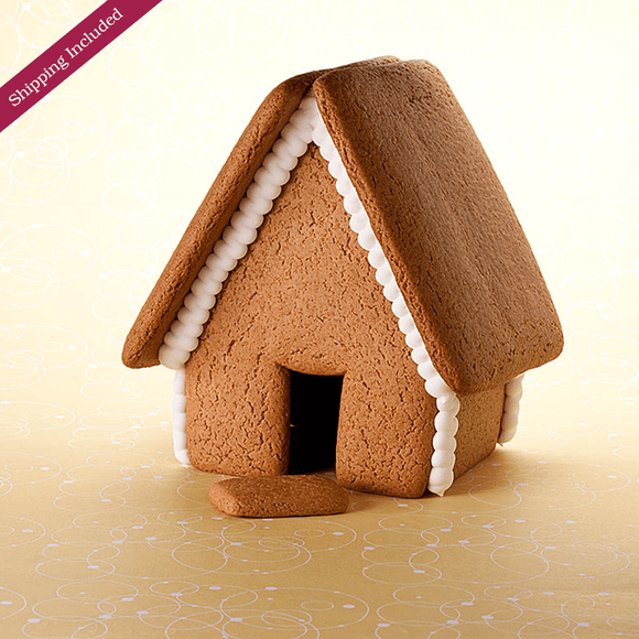 Undecorated Gingerbread House