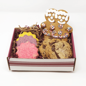 Mother's Day Gift Box The Gingerbread Construction Co. Gourmet Cookies