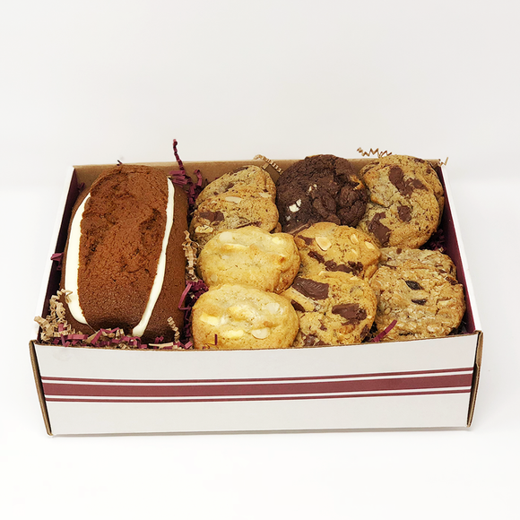 Muffin Loaf & Gourmet Cookie Gift Box The Gingerbread Construction Co.