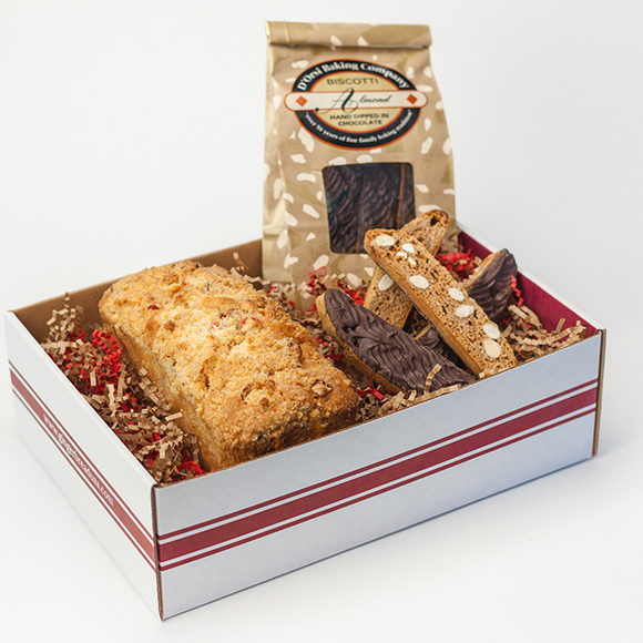 Muffin Loaf & Biscotti Gift Box