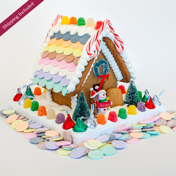 Necco Wafer Gingerbread House - Small