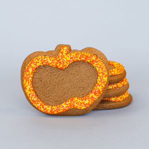 Pumpkin Gingerbread Cookie The Gingerbread Construction Co.