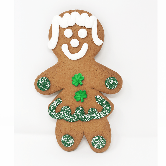 Jumbo St. Patrick's Day Cookie - Girl The Gingerbread Construction Co.