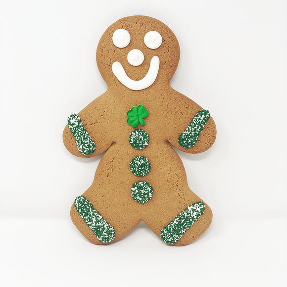 Jumbo St. Patrick's Day Cookie - Boy The Gingerbread Construction Co.