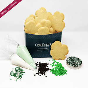 Sugar Cookie Decorating Kit - St. Patrick's Day Edition The Gingerbread Construction Co.