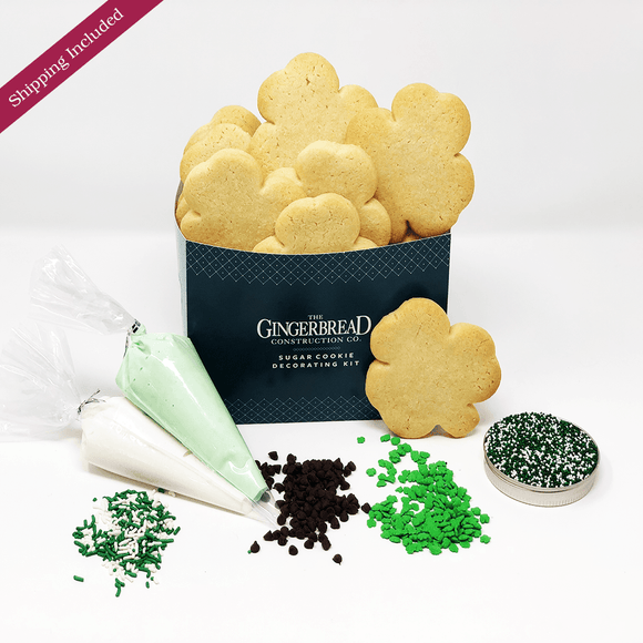 Sugar Cookie Decorating Kit - St. Patrick's Day Edition