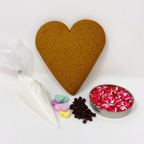 Individual Heart Decorating Kit The Gingerbread Construction Co.