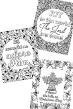 Load image into Gallery viewer, Christmas Carol Coloring Sheets (Set of 5)