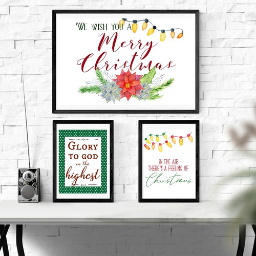 Christmas Wall Art Mega Pack