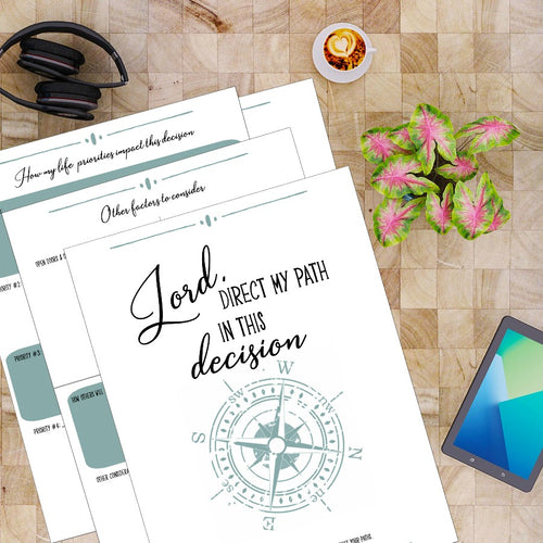 Blueprint for Decision-Making: Lord, Direct My Path in This Decision