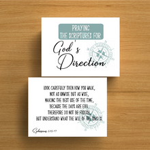 Load image into Gallery viewer, 40 Days of Prayer for God's Direction Journal and Scripture Cards
