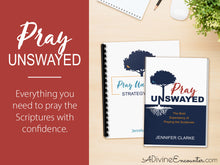 Load image into Gallery viewer, Pray Unswayed Deluxe Bundle (a complete program for praying the Scriptures)