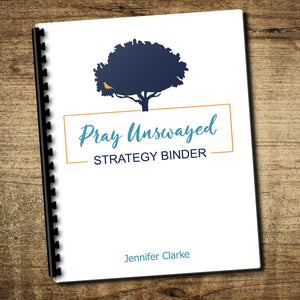 Pray Unswayed Deluxe Strategy Binder