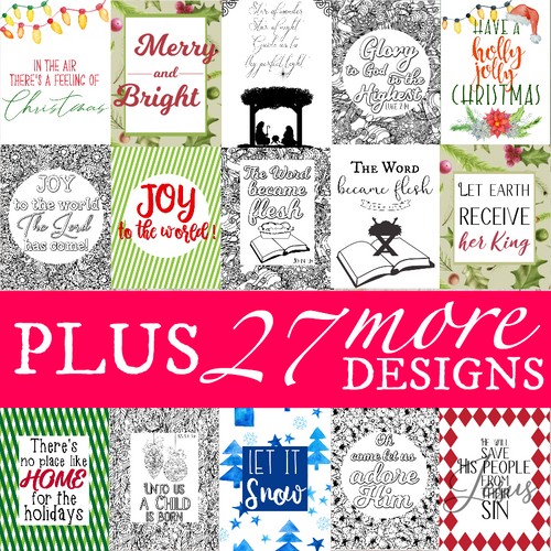 Ultimate Christmas Printable Pack