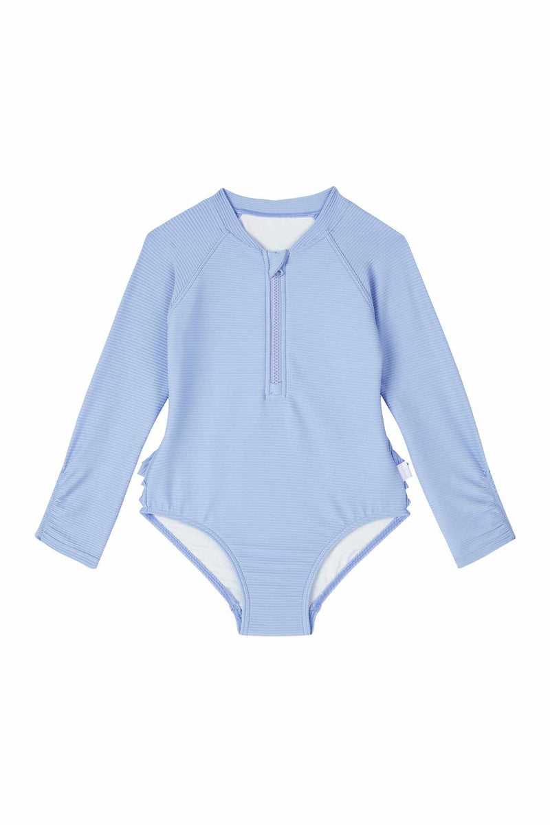 Seafolly Girls Long Sleeve Surf Tank - Sweet Summer
