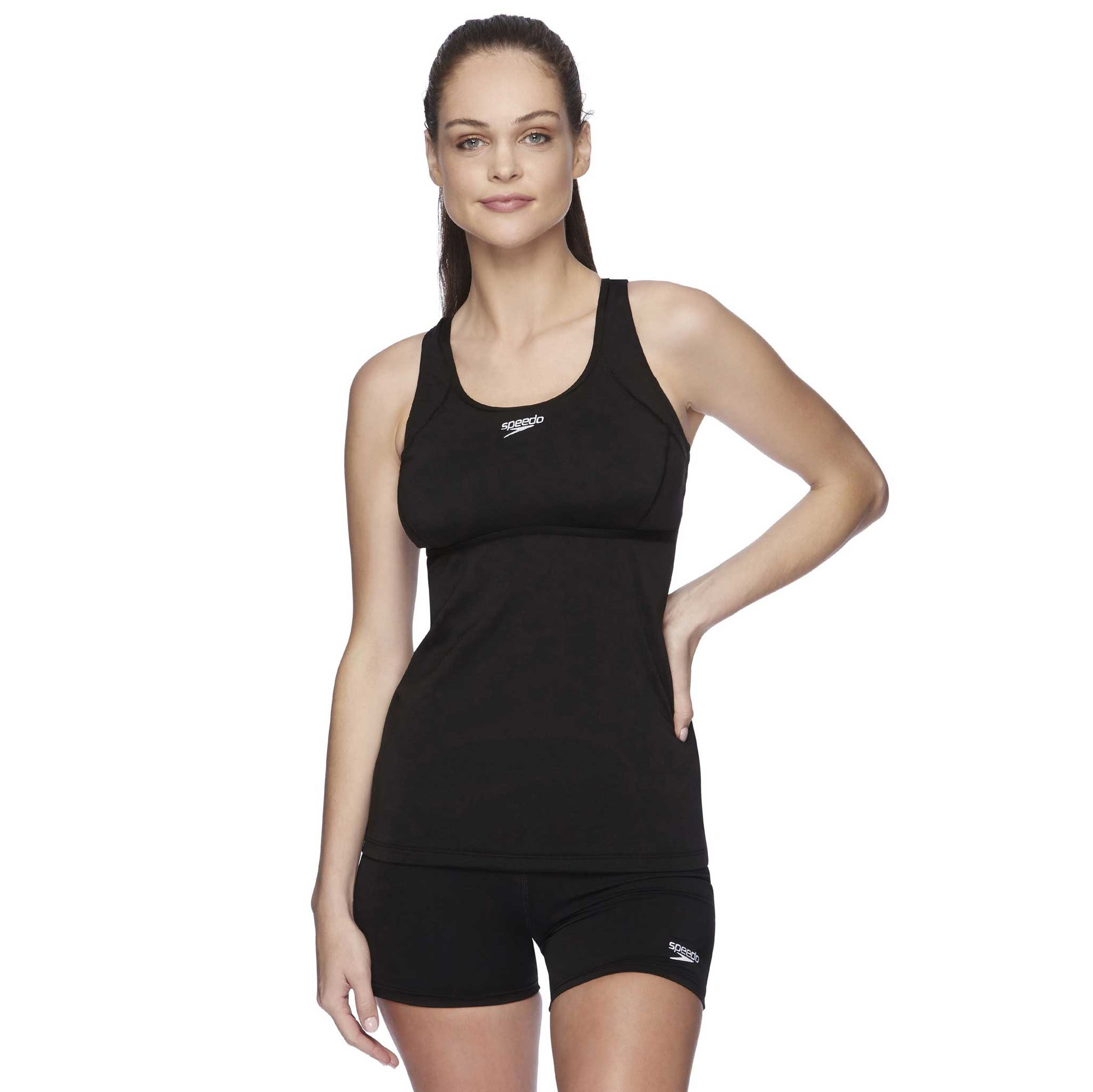 Speedo Womens D/DD Cup Tank - Cross Trainer