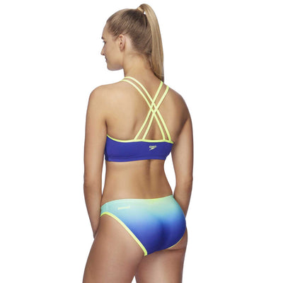 Speedo Womens Low Rise Pant - Ombre Laguna