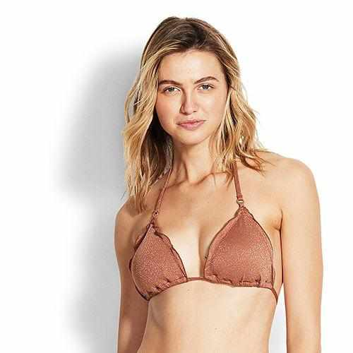 Seafolly Slide Tri Top - Stardust