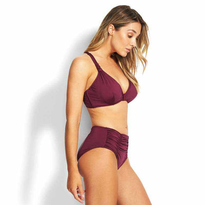 Seafolly F Cup Halter Top - Seafolly