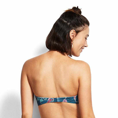 Seafolly Bustier Bandeau - Balinese Retreat