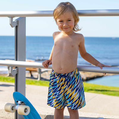 Salty Ink Boys Boardie - Cosmik