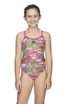 Speedo Girls Surf Sierra One Piece - Ella Unicorn