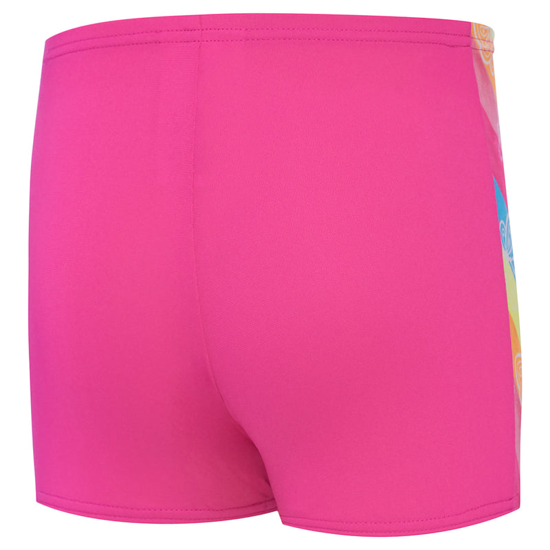 Speedo Toddler Girls Panelled Aquashort - Summer Bliss