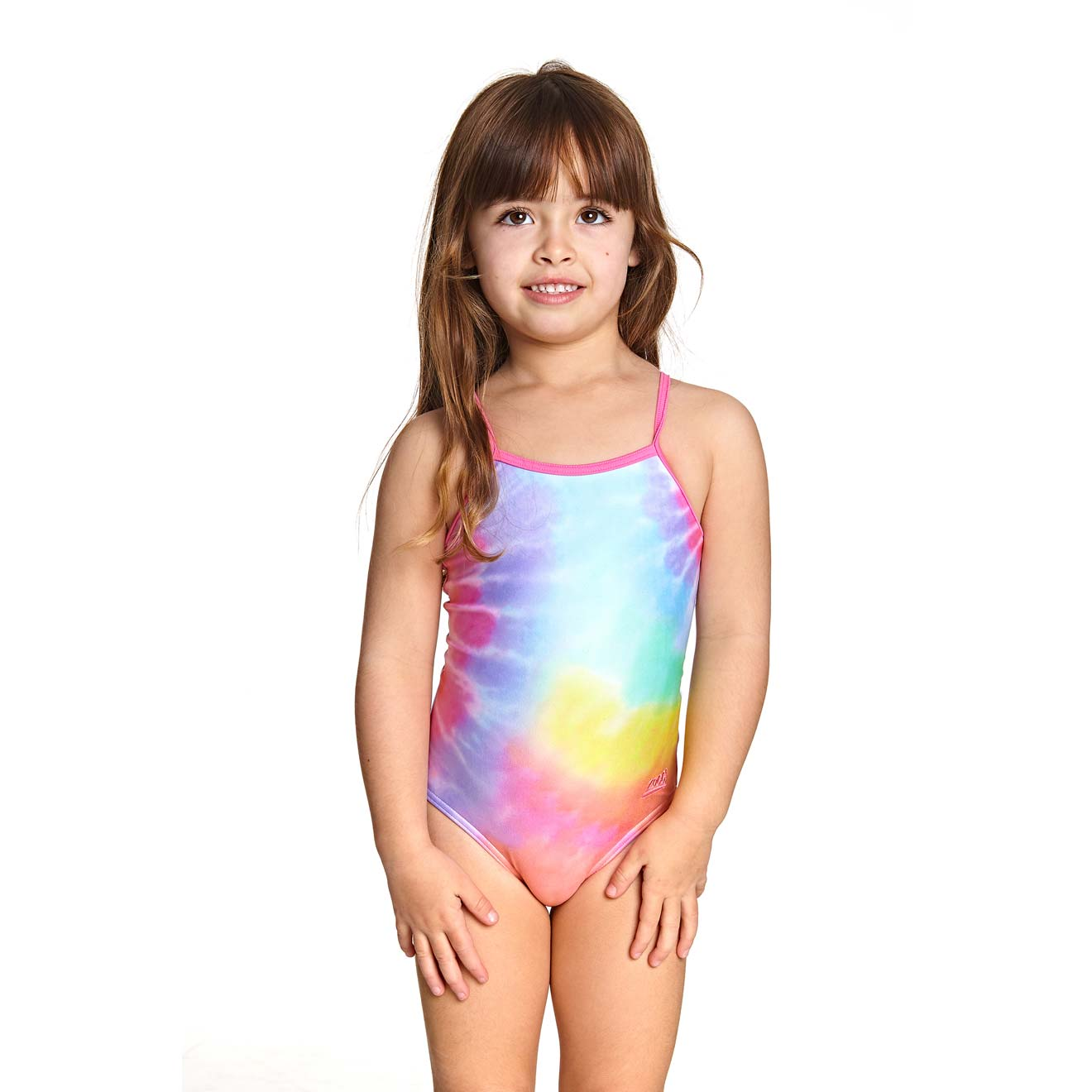 Zoggs Little Girls One Piece - Sunshine Yaroomba Floral